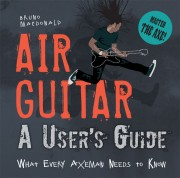 Cover of book called Air Guitar