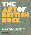 Cover of book called The Art of British Rock