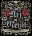 Cover of book called The Art of Metal