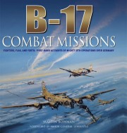 Cover of book called B-17 Combat Missions