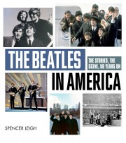 Cover of book called The Beatles in America