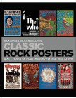 Cover of book called Classic Rock Posters