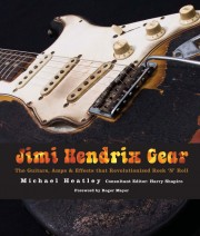 Cover of book called Jimi Hendrix Gear