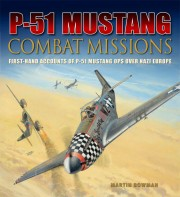 Cover of book called P-51 Combat Missions