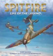 Cover of book called Spitfire