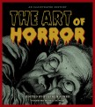 Cover of book called The Art of Horror