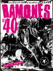 Cover of book called Ramones at 40