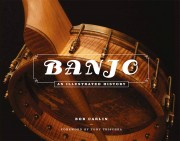 Cover of book called Banjo: An Illustrated History