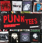 Cover of book called Punk Tees
