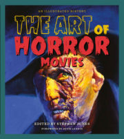 Cover of book called The Art of Horror Movies